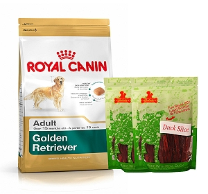 Royal Canin Golden Retriever Adult - 3 Kg  With Duck Slices