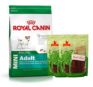 Royal Canin Mini Adult - 4 Kg  With Duck Slices