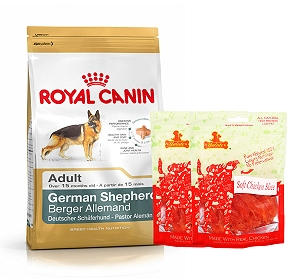 Royal Canin German Shepherd Adult - 3 Kg  With Chicken Slices