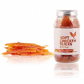 PetSpot Soft Chicken Slices - 100 gm