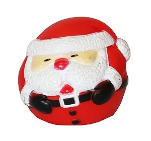 DogSpot Santa Ball Toy - 3 Inches