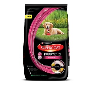 PURINA SUPERCOAT Puppy Dog Food - 1.5 kg