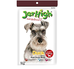 Jerhigh Duck Dog Treat - 70 gm