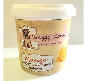 Waggy Zone Doggy Icecream Instamix Mango - 40 gm