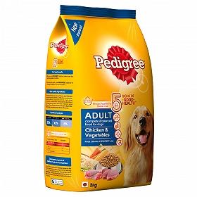 Pedigree Adult Dog Food Chicken & Vegetables  - 3 Kg