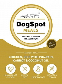 DogSpot Meals  Chicken & Rice - 300 gm