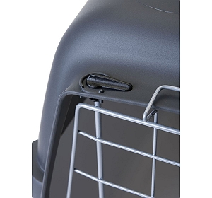 Trixie Capri 3 Open Top Transport Box Grey - (LxBxH - 40x38x61) CM