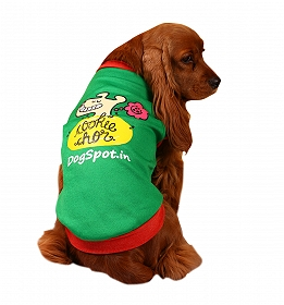 DogSpot Cookie Chor Winter T-Shirt Size - 12