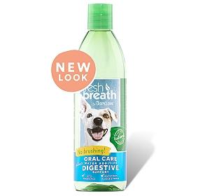 Tropiclean Fresh Breath Digestive Support Water Additive - 473 ml