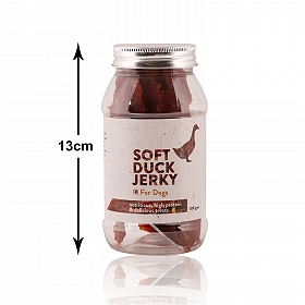 PetSpot Soft Duck Jerky - 100 gm