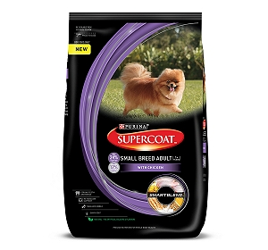 PURINA SUPERCOAT Small Breed Adult Dog Food - 400 gm