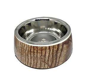 Basil Malamine Bowl Wooden Print - Medium