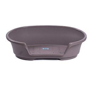 Savic Cosy Air Bed Xlarge - Warm Grey (LxBxH - 104 x 71 x 30) cm