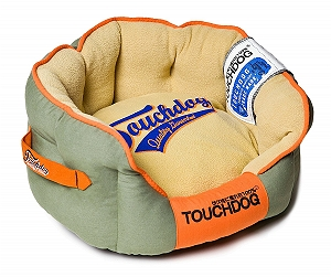 Touchdog Original Castle-Bark Ultimate Rounded Premium Dog Bed - Small