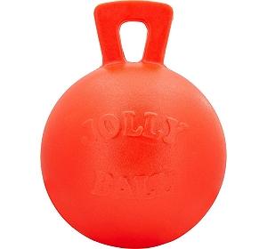 Jolly Pets Tug-n-Toss Ball Dog Toy Orange - 25.4 cm