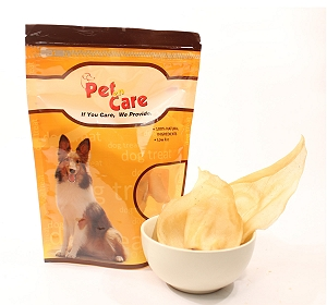 Pet en Care Natural Rawhide Ears Without Skin - 2 Pcs