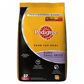 Pedigree Dog Food Puppy Small Breed Professional