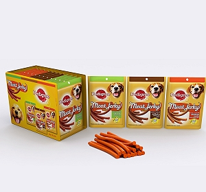 Pedigree Meaty Stix Assorted pack - ( 60gmX12 Packs)