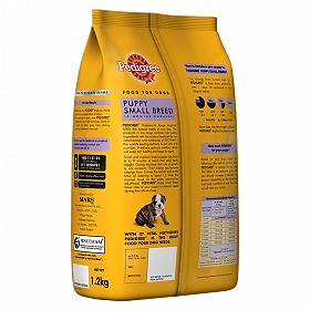 Pedigree Dog Food Puppy Small Breed Professional 1 2 Kg