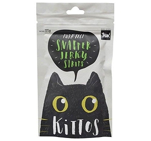 Kittos Snapper Jerky Strips Cat Treat - 35 gm