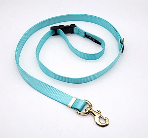 Forfurs Adjustable Protean All Breed Leash - Cocktail Blue
