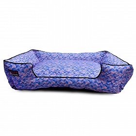 Mutt Of Course Geometrical Light Lounger Bed - Medium
