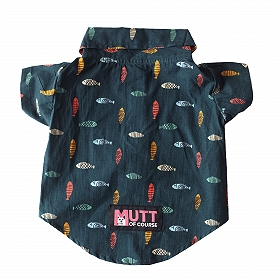 Mutt of Course Pupperoni Pizza Shirt for Dogs- 5XL