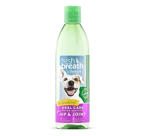 Tropiclean Fresh Breath Hip & Joint Water Additive - 473 ml