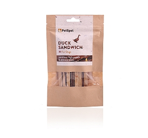 PetSpot Duck Sandwich - 70 gm
