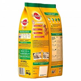 Pedigree Dog Food Adult 100% Vegetarian  - 3 Kg