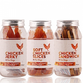 PetSpot Chicken Treat Pack