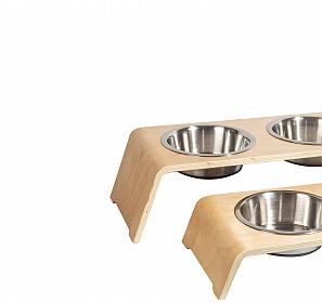 Urban Dog Aiko Dog Feeder - Short