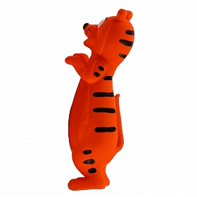 DogSpot Latex Happy Tiger Toy