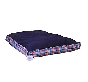 CleenPet Rectangle Bed Navy (LxB - 40 x 28) Inches -Large