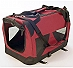 Petzden Canvas Fold Flat Carrier, Crate for Dogs XL