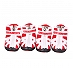 DogSpot Fashion Breathable Mesh Dog Shoes Red Size -5