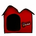 Dogspot Foldable All Weather Pet House - (LxBxH - 20.8x18x18 Inches)