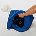 DogSpot Ultra Absorbent Microfiber Pet Towel - Blue - (LxW- 32 x 19) Inches