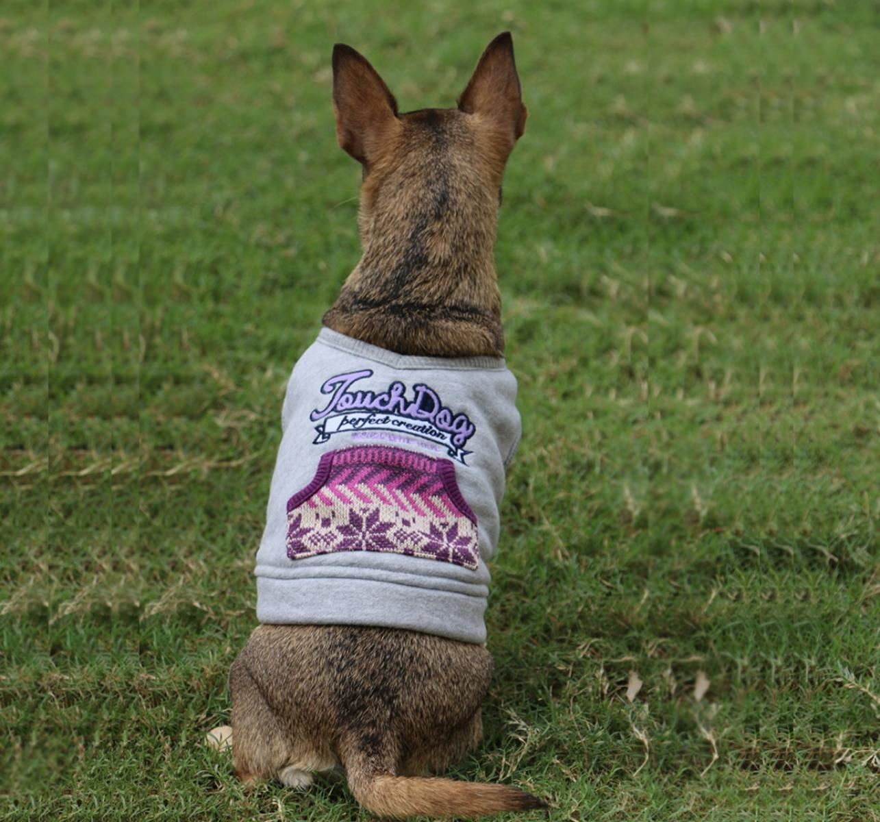 Touchdog Style Of Campus Winter T -Shirt - XSmall
