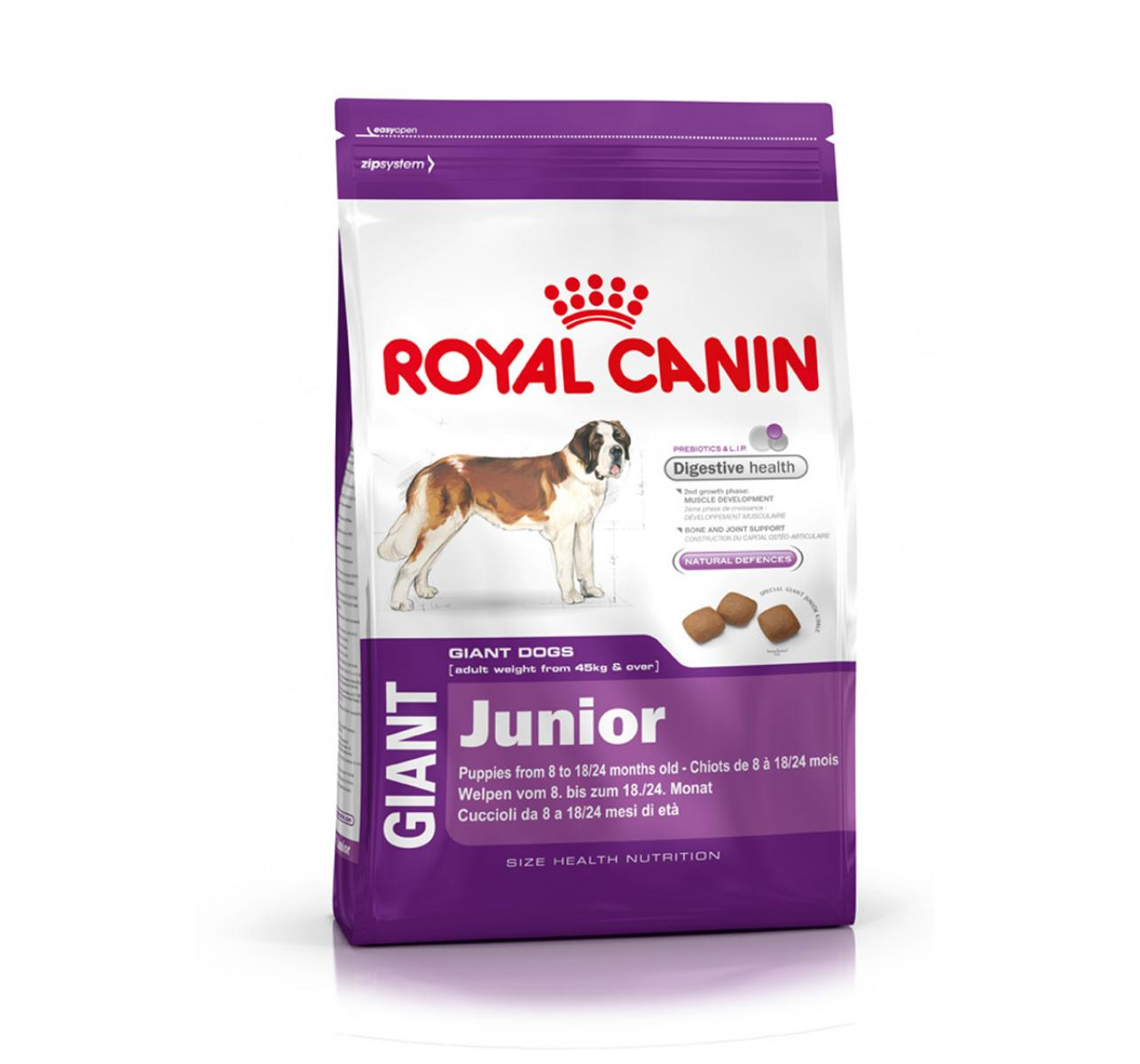 Royal Canin Giant Junior - 4 Kg