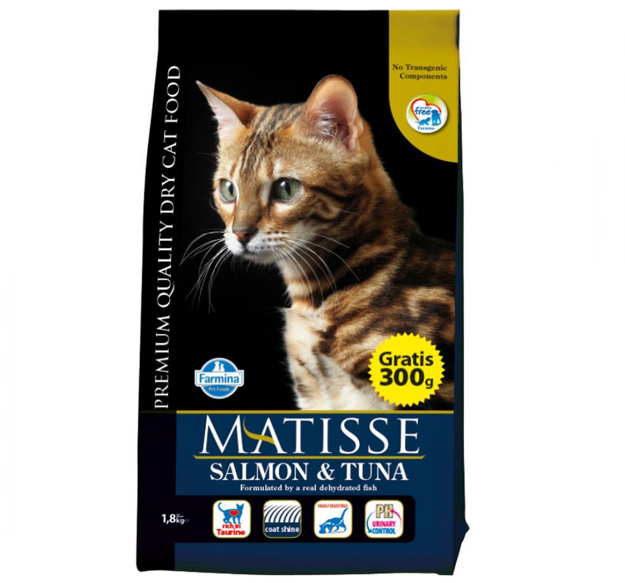 Matisse Adult Cat Food Salmon & Tuna - 1.8 Kg