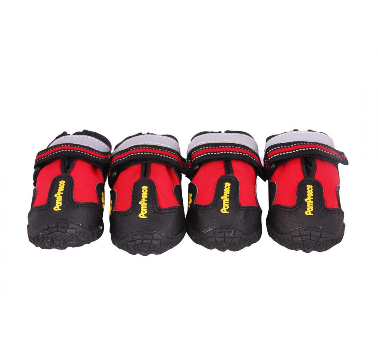 DogSpot Walker Active Boots Red Size -1