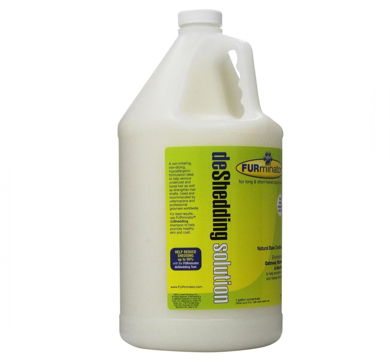 Furminator Deshedding Solution Shampoo - 3.8 Liters