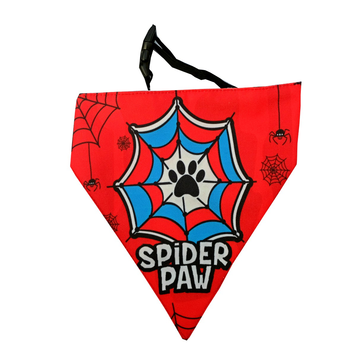 LANA Paws SpiderPaw Adjustable Bandana - Medium & Large