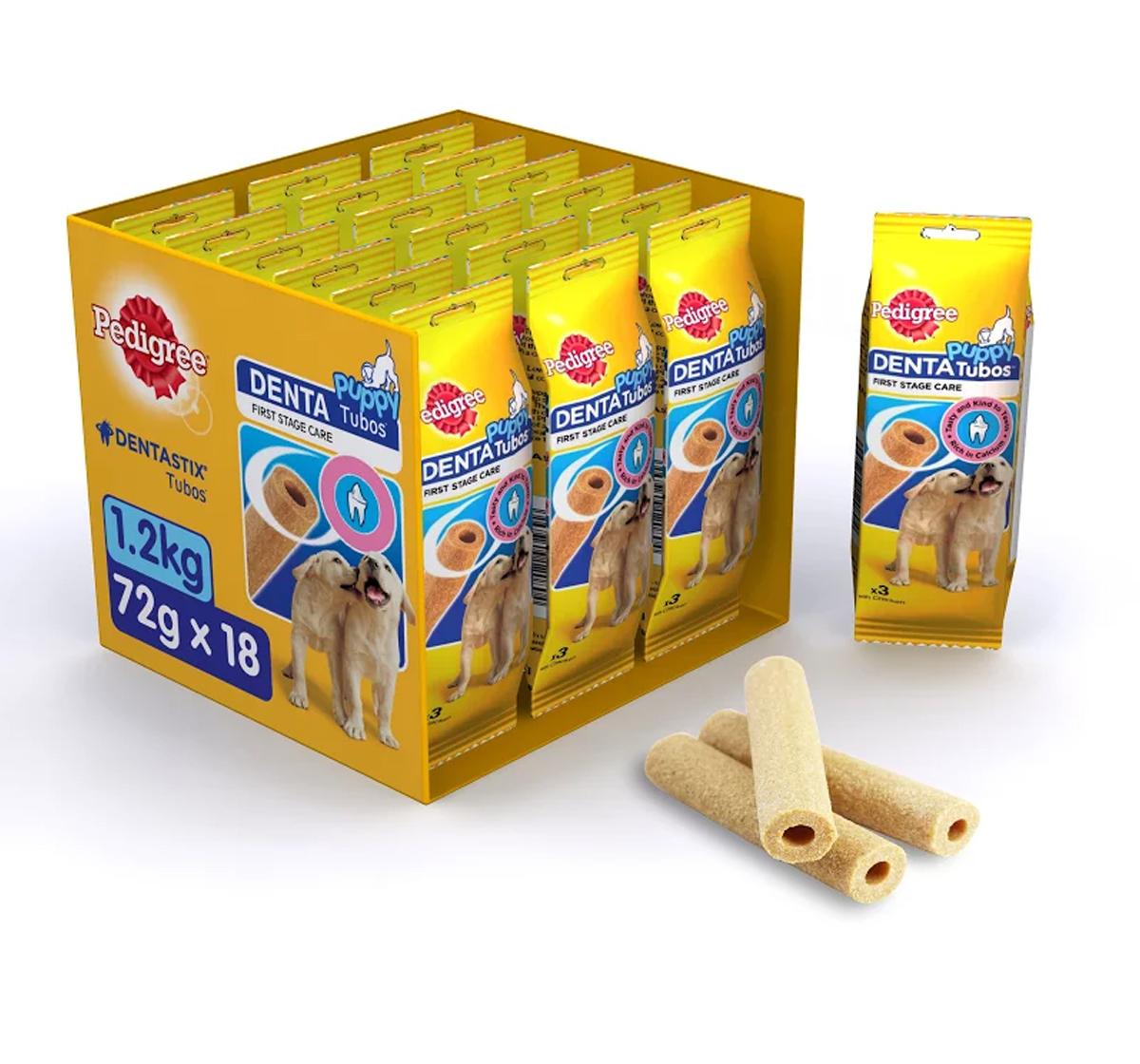 Pedigree Denta Tubos Chicken Puppy Treat - 1.2Kg ( 54 Sticks)