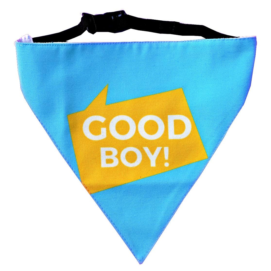 LANA Paws Good Boy Adjustable Bandana -Medium & Large