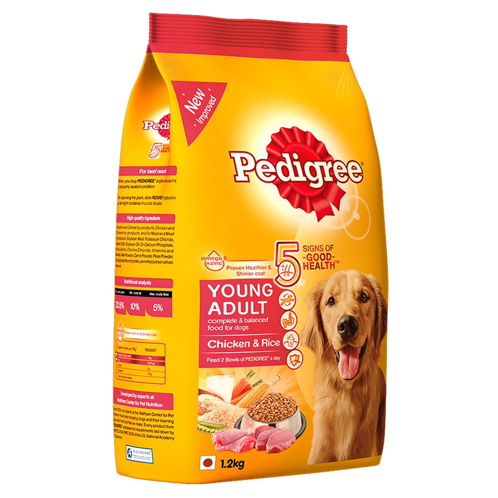 pedigree young adult food chicken blswusho
