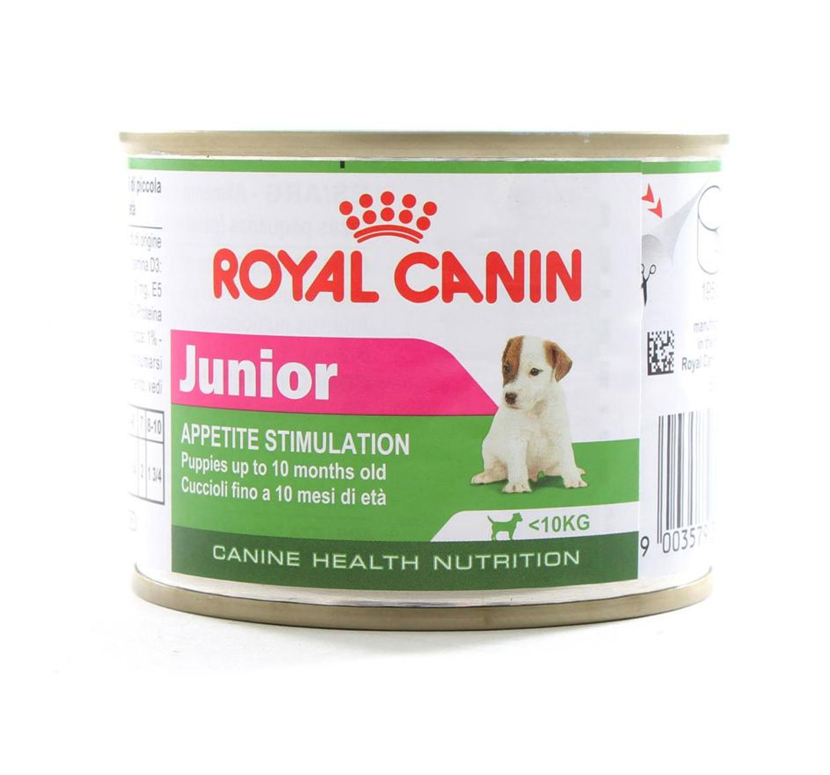 royal canin mini junior can food 195 gm dogspot online pet supply store. Black Bedroom Furniture Sets. Home Design Ideas