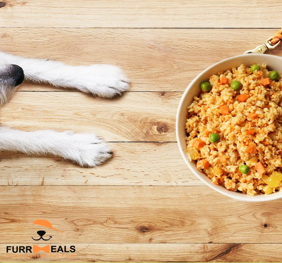 FurrMeals Herbed Chicken & Rice Home cooked Adult Dog Food - 1 kg