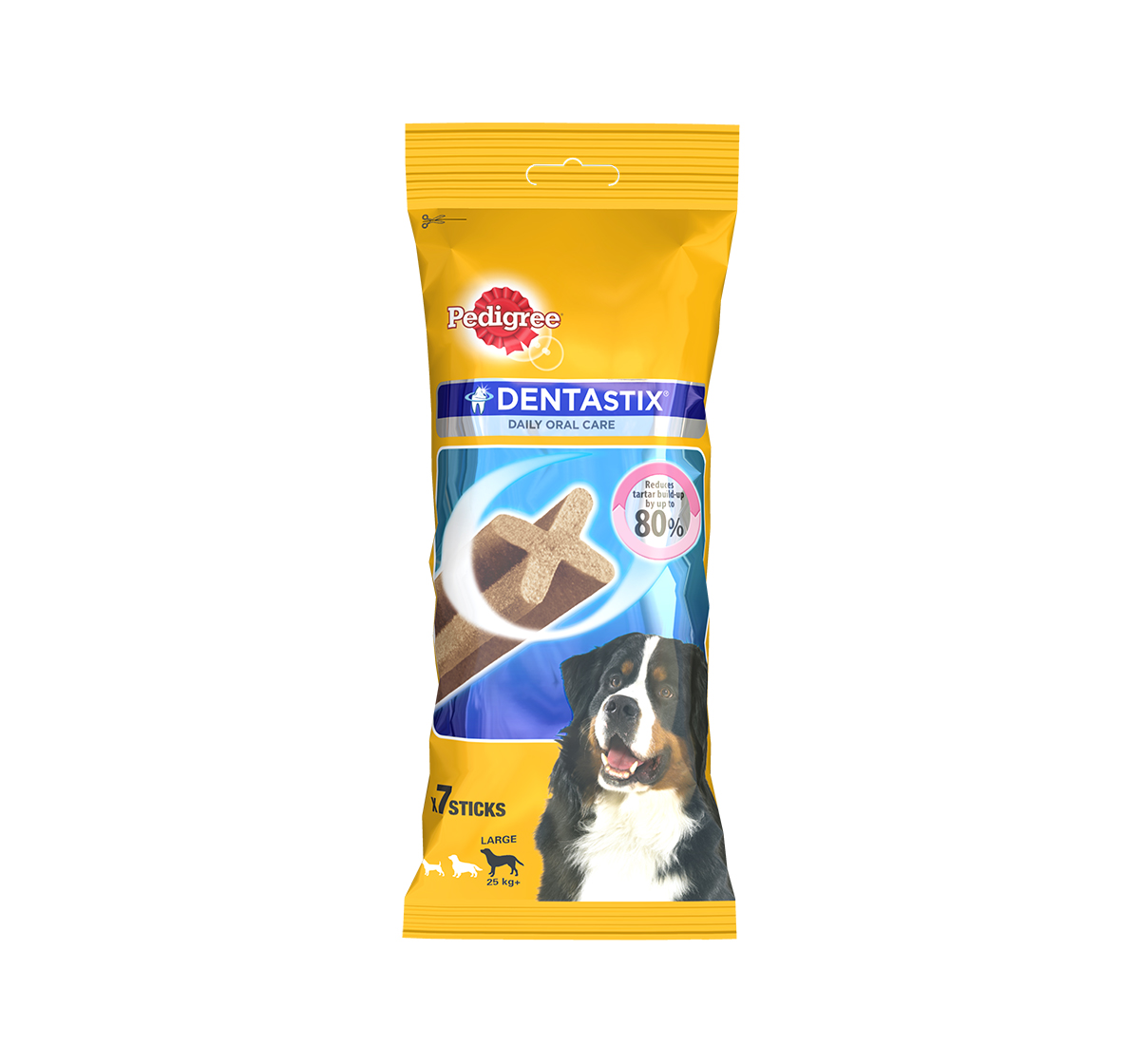 Pedigree Dentastix Large breed Adult Weekly Pack - 270 gm